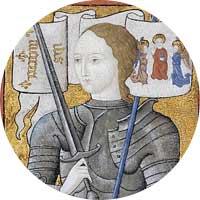 Joan of Arc Left Handed