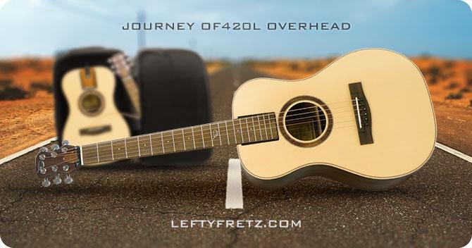 Journey OF420L Overhead Left Handed Travel Guitar
