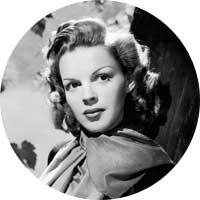 Judy Garland Left Handed