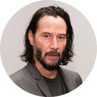Keanu Reeves Left Handed