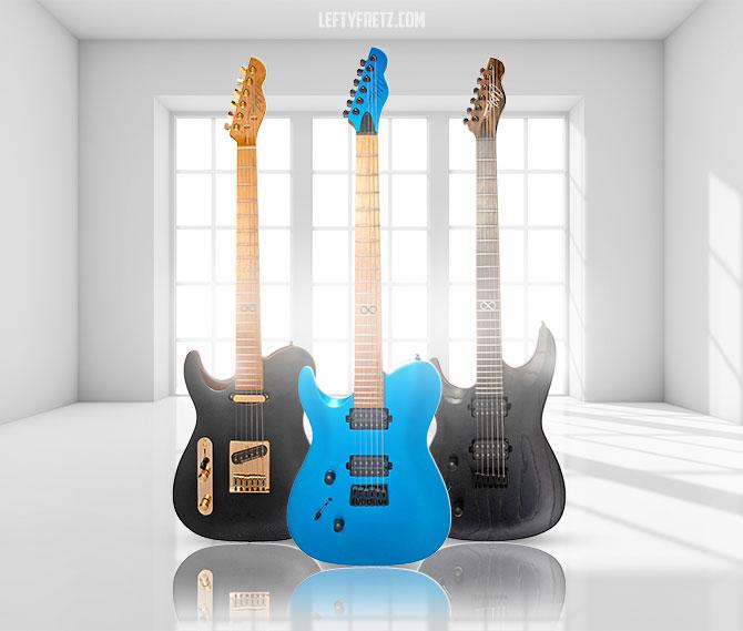 Left Handed Chapman Guitar