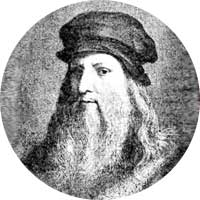 Leonardo Da Vinci Left Handed