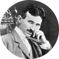 Nikola Tesla Left Handed
