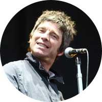 Noel Gallagher Left Handed