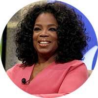 Oprah Winfrey Left Handed