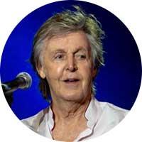 Paul McCartney Left Handed