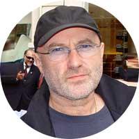 Phil Collins Left Handed