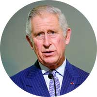 Prince Charles Left Handed