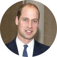 Prince William Left Handed