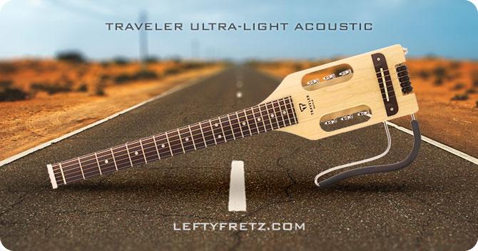 Traveler Ultra Light Acoustic Left Handed