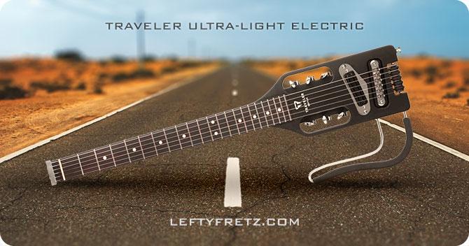 Traveler Ultra Light Electric Guitar Left Handed