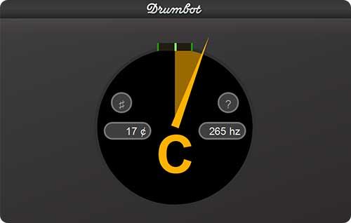 Drumbot Website Guitar Tuner
