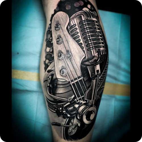 Fender Bass Tattoo