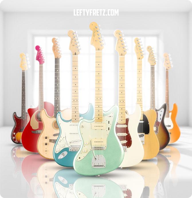 Fender Left Handed
