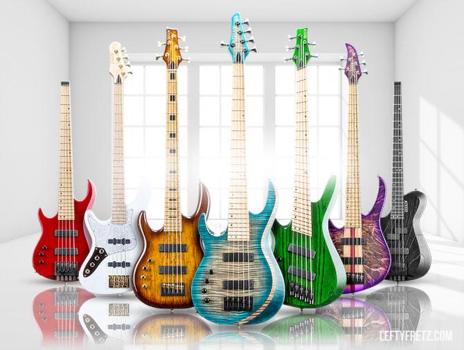 Kiesel Left Handed Bass