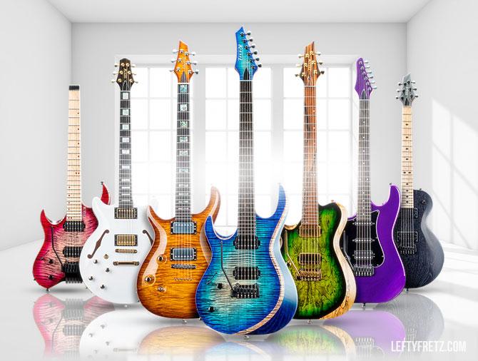 Kiesel Left Handed Guitars