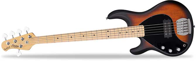 Left Handed Sterling Stingray Ray5 Bass