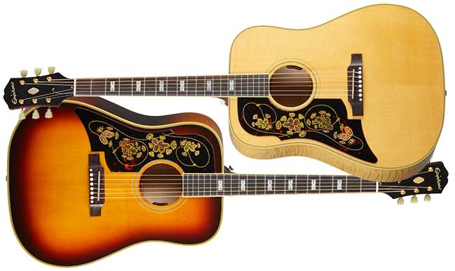 Epiphone Frontier USA Left Handed Acoustic