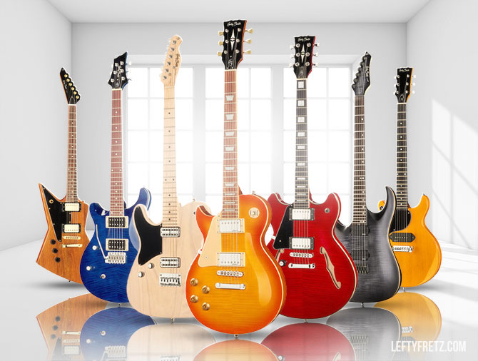 Harley Benton Left Handed Guitars