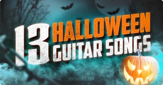 Halloween Guitar Songs