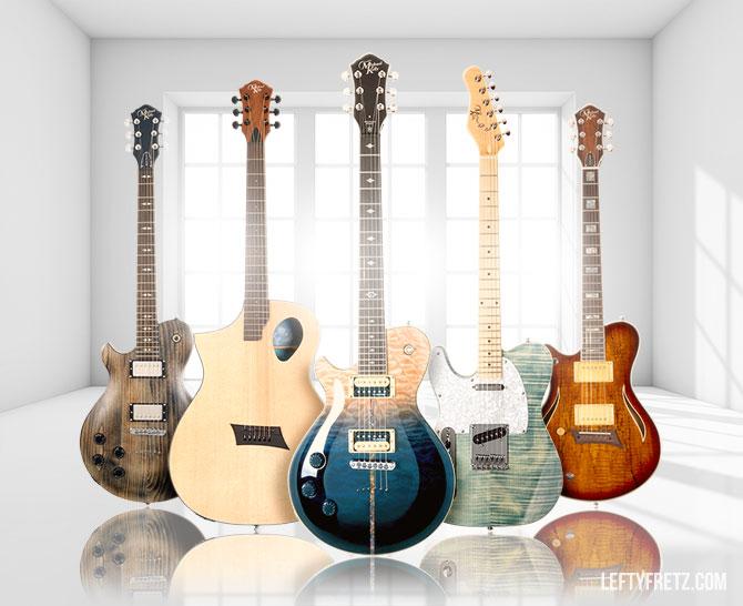 Michael Kelly Left Handed Guitars