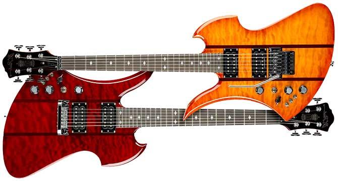 BC Rich Mockingbird Legacy Left Handed Guitars