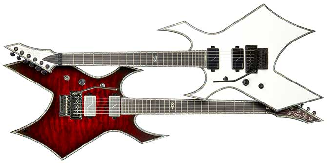 BC Rich Warlock Extreme Left Handed