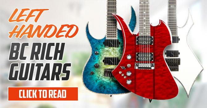 Left Handed BC Rich Guitars