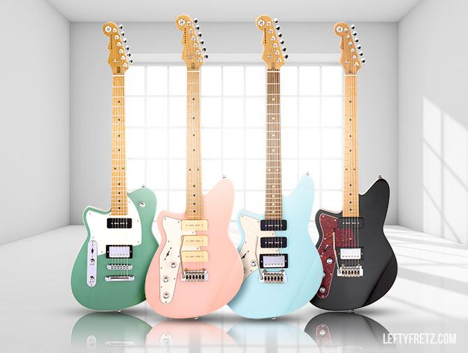 Left Handed Reverend Guitars